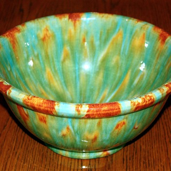 Pacific Pottery Blended Glaze Mixing Bowl #9 - Pottery