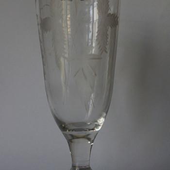 Georgian Ale Glass - Art Glass