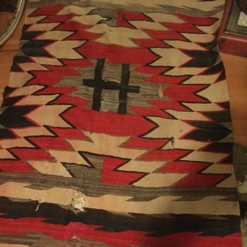 Eye dazzler rug - Native American