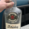 schenley reserve 8 year old whiskey bottle