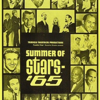 Summer of Stars '65 program-1965 - Music Memorabilia