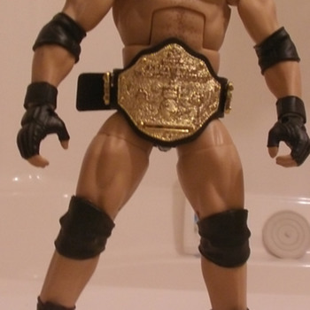Custom wrestling figures - Toys