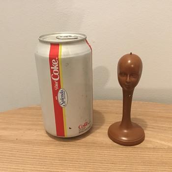 Odd Doll Head / Toy Wig Form? What is it? - Dolls
