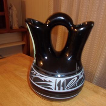 Navajo Wedding Vase, Help Identify - Pottery