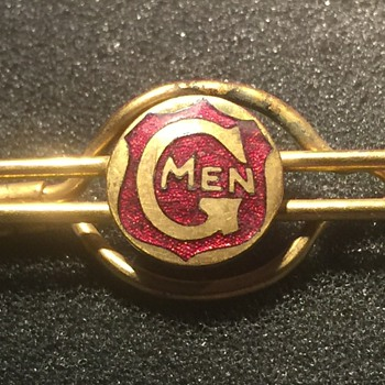 G Men Tie Clip - Accessories