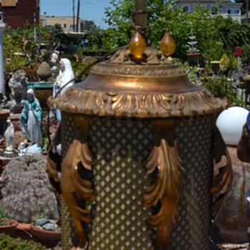 Enormous Hollywood Regency Lamp - Lamps