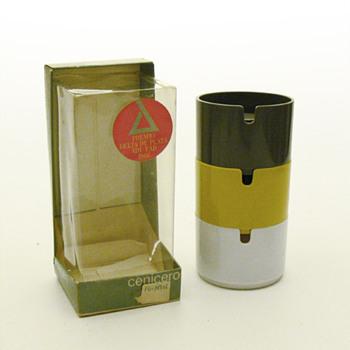 Original packaging for André Ricard's COPENHAGEN ashtrays - Tobacciana