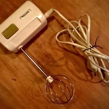 Miniature Philips Vintage Hand Mixer - Tiny! - Kitchen
