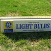 GE Light Bulb Sign