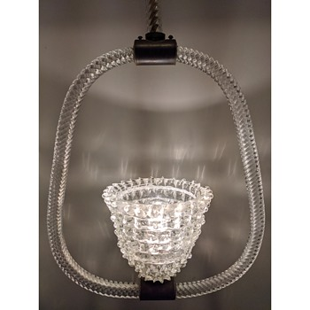 barovier lamp - Art Glass