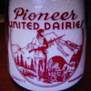 PIONEER UNITED DAIRIES EVERETT WASHINGTON QUART MILK BOTTLE.........