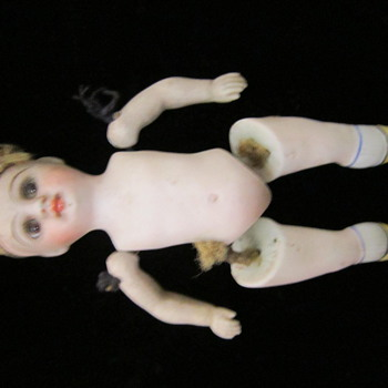"""Bique 5"""" doll marked 1845"""