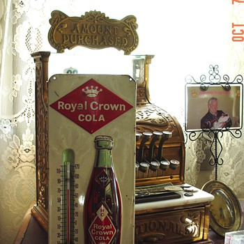 Royal Crown Cola...Thermometer - Advertising