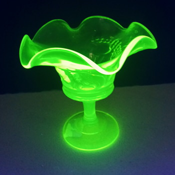 I know its Vaseline glass but what is it?  - Glassware