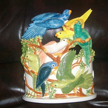 bird planter - Pottery