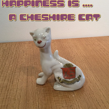 HAPPINESS IS A CHESHIRE CAT - Pottery