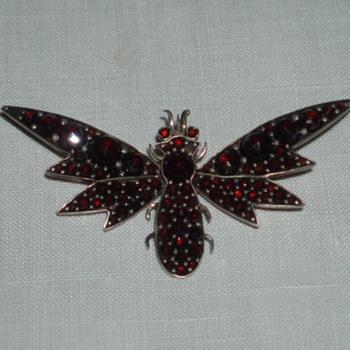Jumble Sale Brooch - Costume Jewelry