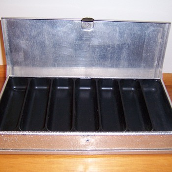 madmac- old tackle box,worm box , minnow bucket & fishing reel