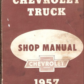 57' Chevrolet Truck Shop Manual