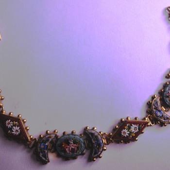 Micro Mosaic floral bracelet - Fine Jewelry