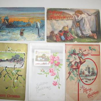 More old Christmas Postcards - Christmas
