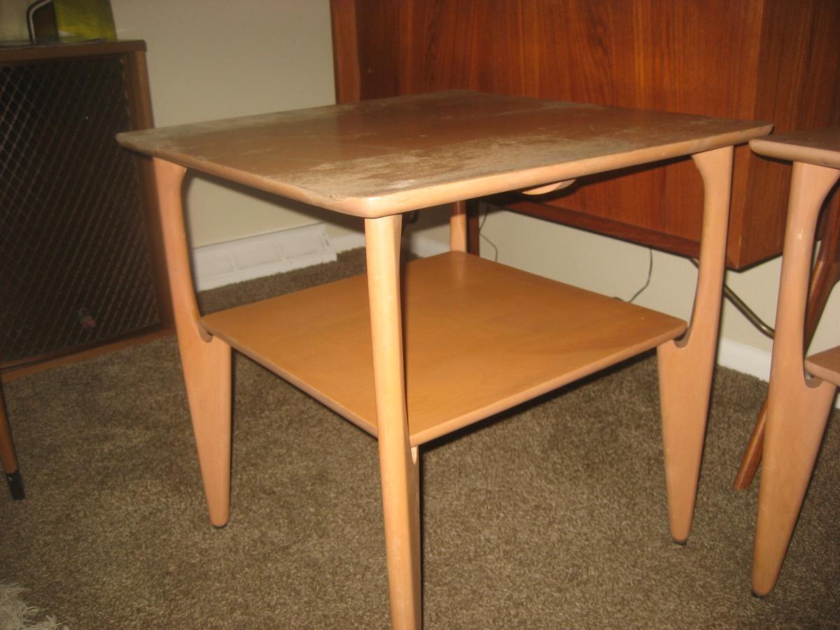 heywood wakefield end table Collectors Weekly