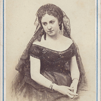 Controversial Actress Adah Isaacs Menken CDV by A. Liebert and Co. of Paris, France - Photographs