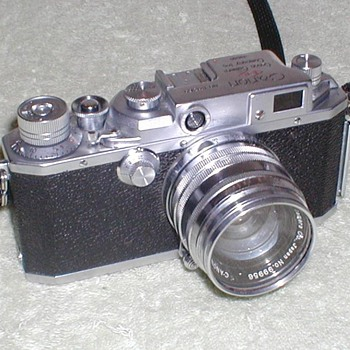 1954/1955 - Canon II-S 35mm Camera - Cameras