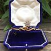 Victorian Gold Diamond Bangle