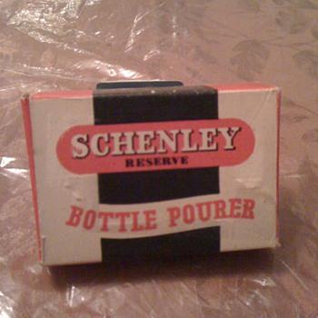 Pour Schenley Bottle pourwe - Bottles