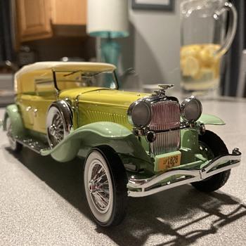 Franklin Mint 1930 Duesenberg J Derham Tourster   - Model Cars