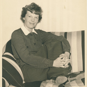 Eighty year search - Amelia Earhart - Photographs
