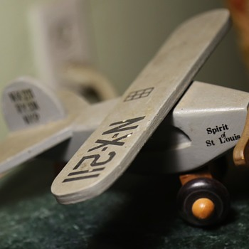 Spirit of Saint Louis Wooden Model - Toys