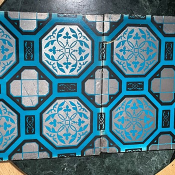 Unusual Large Tiles by Minton Hollins Co. Patent Tile, Stoke-on-trent. - Pottery