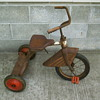 Unknown tricycle with skirted fender.