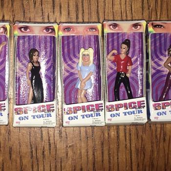Spice Girls miniature dolls - Toys