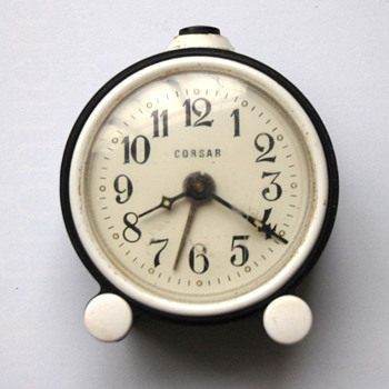 Antique 40's-50's Russian Corsar alarm clock. - Clocks