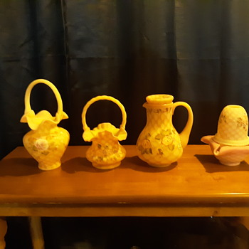 Newly added to my fenton collection - Glassware