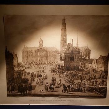 Artwork by J.V.D. Delsenbach of Amsterdam or was it by hmmmm someone else? - Fine Art