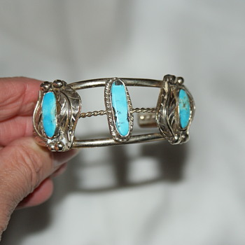 Possibly Native American Bracelet - Costume Jewelry
