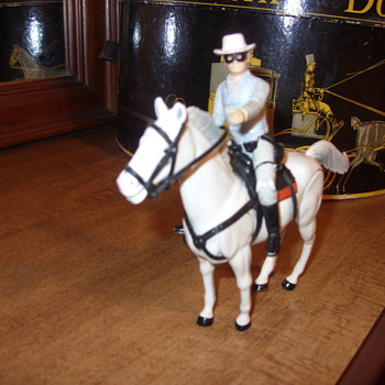 plastic lone ranger and silver - Toys
