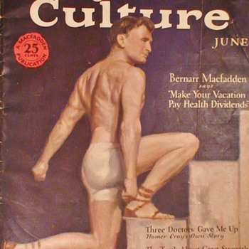Physical Culture Magazine June 1928