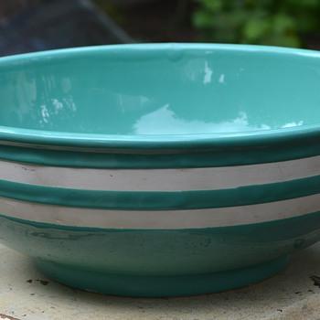 Large Turquoise Bowl - Kitchen