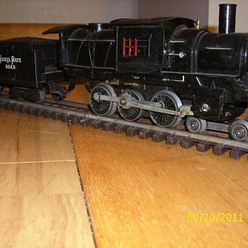 Marx Prototype  CamleBack  engine - Model Trains