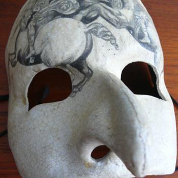Professore Agostini Dessi mask