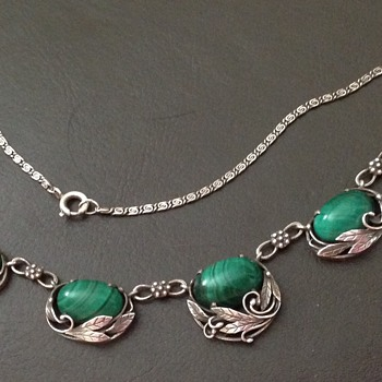 Bernard Instone Necklace - Art Deco