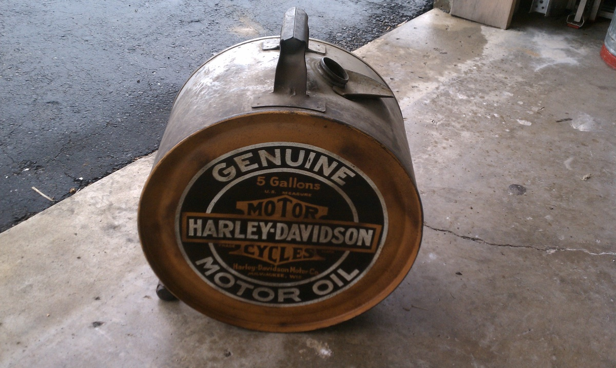 1920s Harley Oil Can Collectors Weekly