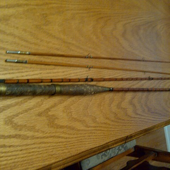 S. Allcock Bamboo Rod  - Clarion (Redditch England) - Fishing