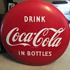 1950's Coca-Cola Button Sign