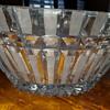 Cur glass bowl
